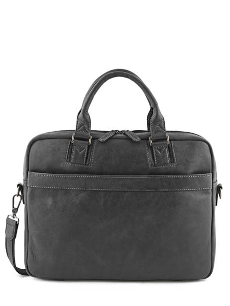 Briefcase 2 Compartments Etrier Black spider ESPI01