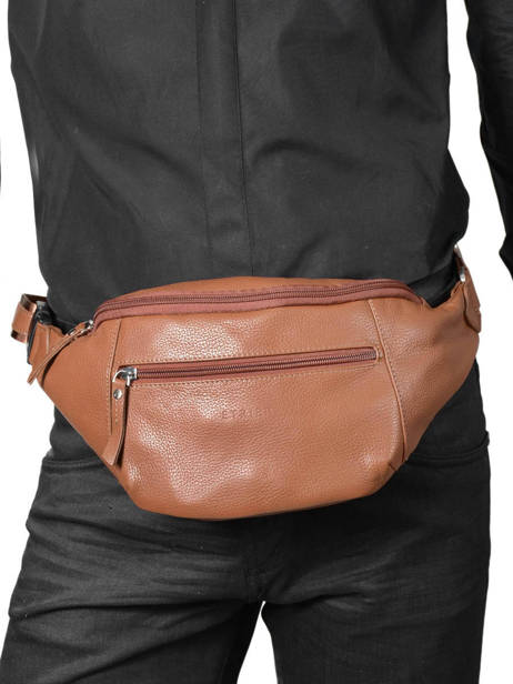 Fanny Pack Etrier Brown flandres EFLA13 other view 1