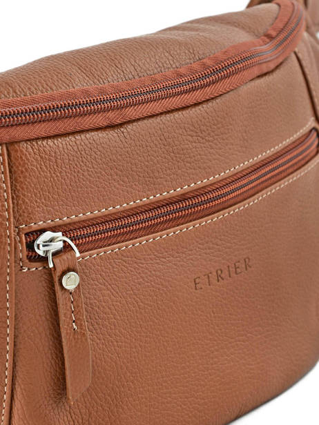 Fanny Pack Etrier Brown flandres EFLA13 other view 2