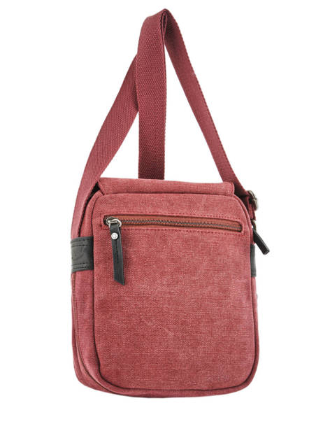 Crossbody Bag Etrier Red canvas ECAN03 other view 3