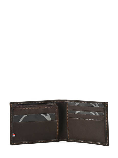 Wallet Leather Etrier Brown oil - 00790102 other view 2