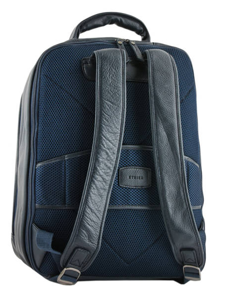 Backpack 3 Compartments Etrier Blue foulonne EFOU04 other view 3