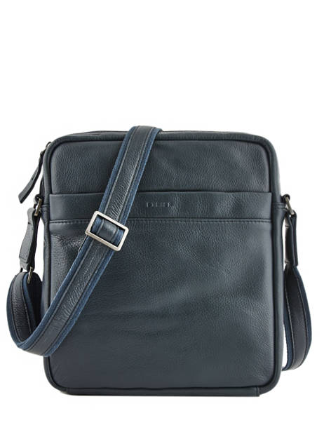 Leather Foulonné Crossbody Bag Etrier foulonne EFOU09