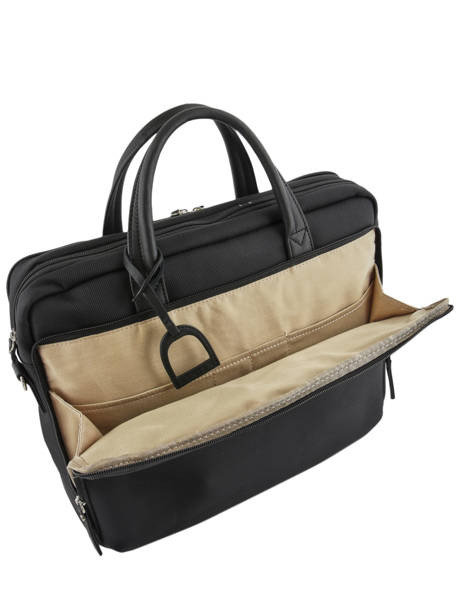 Briefcase Light 3 Compartments Etrier Black light ELIG03 other view 4