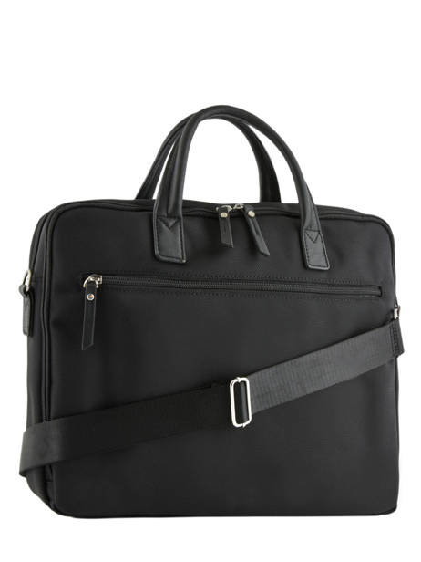 Briefcase Light 3 Compartments Etrier Black light ELIG03 other view 3