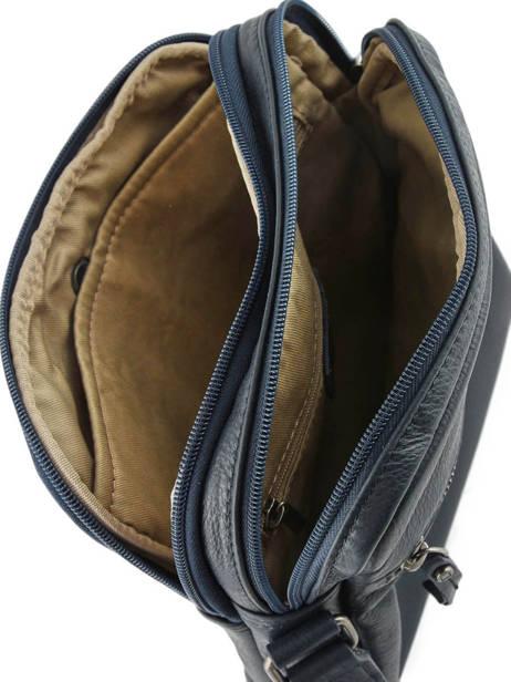 Crossbody Bag Etrier Blue foulonne EFOU08 other view 4