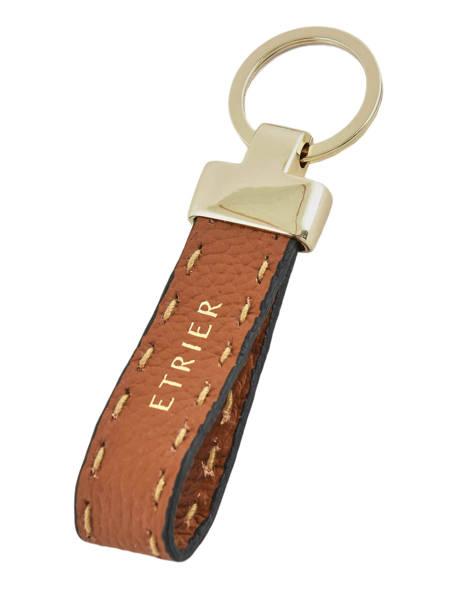 Porte-clefs Tradition Cuir Etrier Marron tradition EHER94