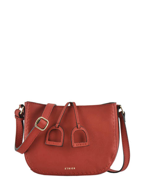 Cross Body Tas Tradition Leder Etrier Rood tradition EHER3A