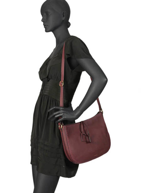 Crossbody Bag Tradition Leather Etrier Violet tradition EHER2A other view 2