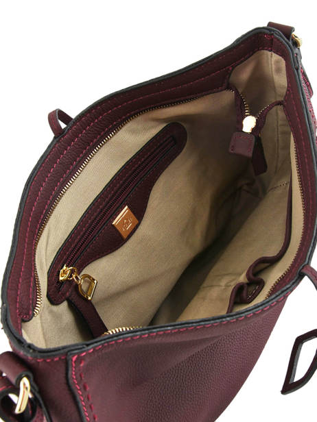 Crossbody Bag Tradition Leather Etrier Violet tradition EHER2A other view 4