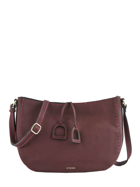 Crossbody Bag Tradition Leather Etrier Violet tradition EHER2A