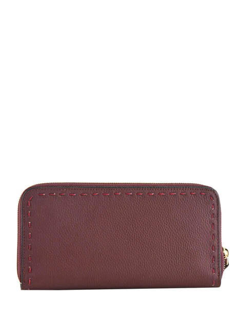 Wallet Leather Etrier Violet tradition EHER91 other view 1