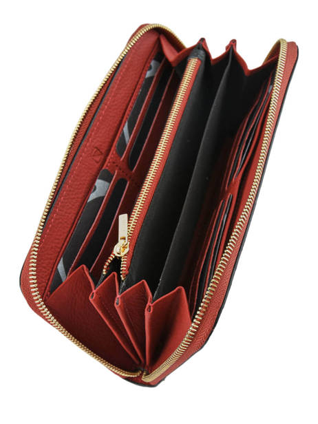 Wallet Leather Etrier Red tradition EHER91 other view 2