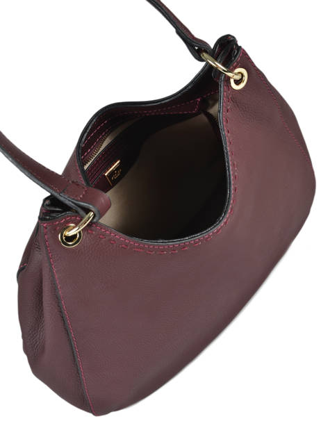 Sac Besace Tradition Cuir Etrier Violet tradition EHER21 vue secondaire 4