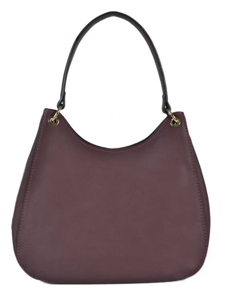 Sac Besace Tradition Cuir Etrier Violet tradition EHER21 vue secondaire 3