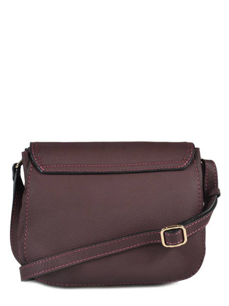 Crossbody Bag Tradition Leather Etrier Violet tradition EHER23 other view 3