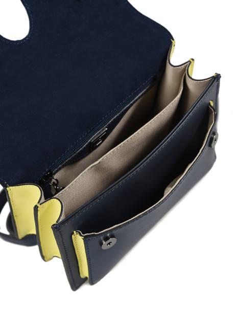Sac Cartable Escarpe Cuir Etrier Bleu escarpe EESC02 vue secondaire 4