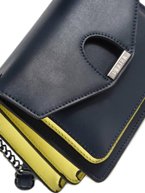 Sac Cartable Escarpe Cuir Etrier Bleu escarpe EESC02 vue secondaire 1