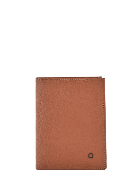 Purse/ Wallet Leather Etrier Brown madras EMAD248