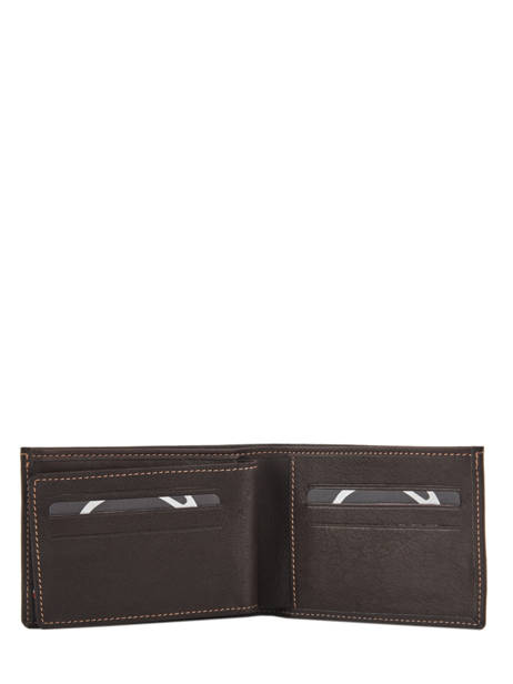 Leather Wallet Oil Etrier Brown oil EOIL440 other view 3