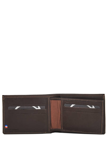 Leather Wallet Oil Etrier Brown oil EOIL440 other view 1