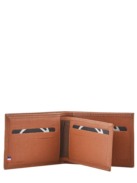 Wallet Madras Leather Etrier Brown madras EMAD440 other view 3