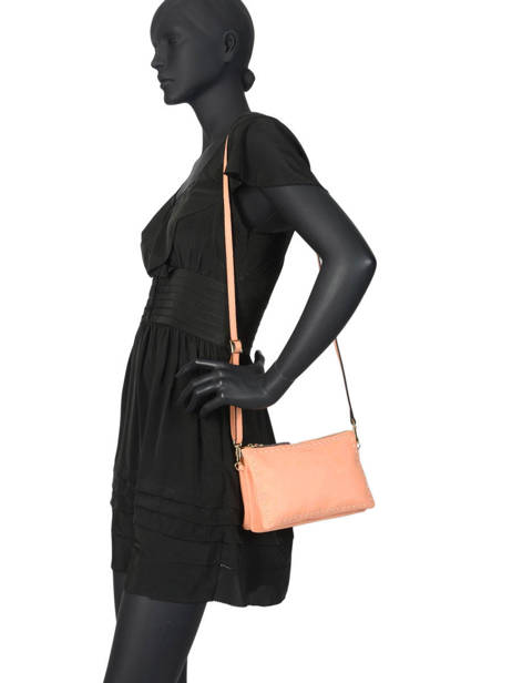 Crossbody Bag Tradition Leather Etrier Orange tradition EHER30 other view 2