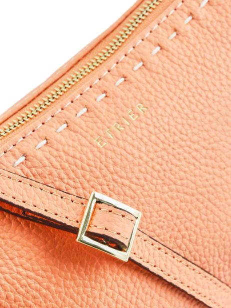Crossbody Bag Tradition Leather Etrier Orange tradition EHER30 other view 1