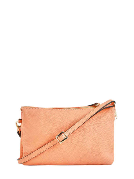 Crossbody Bag Tradition Leather Etrier Orange tradition EHER30 other view 3