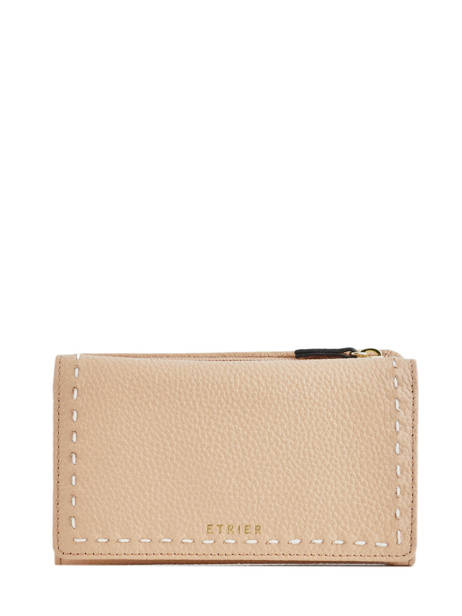 Portefeuille Tradition Cuir Etrier Rose tradition EHER95