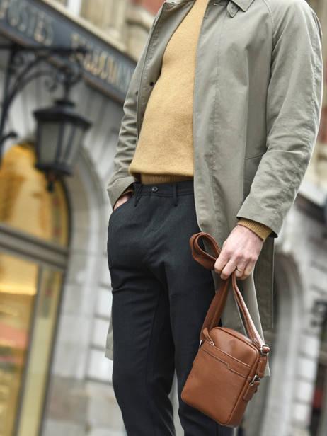 Crossbody Bag Etrier Brown flandres EFLA10