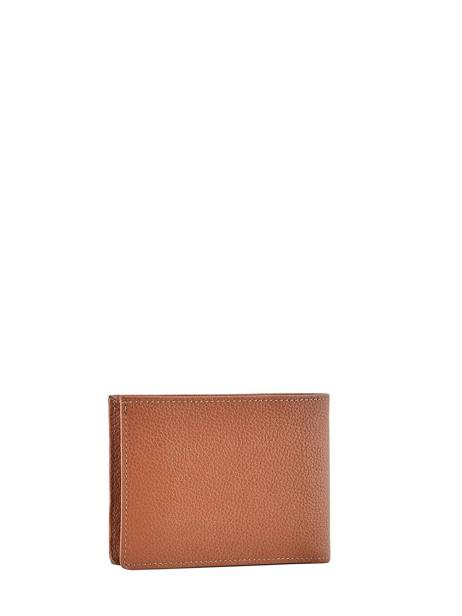 Wallet Madras Leather Etrier Brown madras EMAD440 other view 1