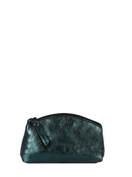 Trousse S Etincelle Cuir Etrier Bleu etincelle irisee EETI652