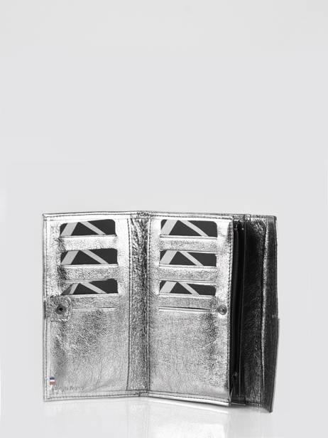 Porte-monnaie Cuir Etrier Argent etincelle irisee EETI701 vue secondaire 1